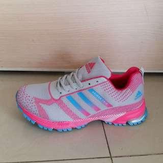 Sepatu Adidas Marathon Tris Wanita, Sepatu Sport, Sepatu Sport Import, Adidas Olahraga