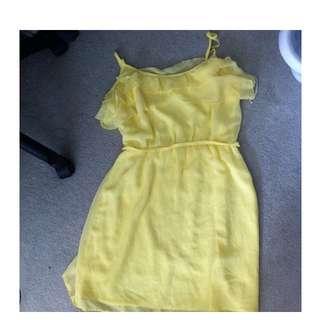 Ladakh Yellow Dress