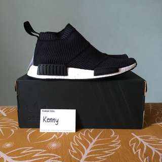 UK7 Adidas Originals NMD City Sock PK Wool