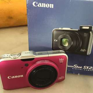 Canon powershot SX230 HS  (digital camera)