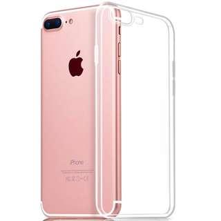 Instock Apple Iphone 7/7+ Transparent Casing