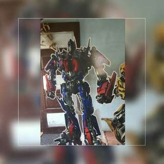 Lifesize Transformer Characters For Theme Party - Optimus Prime