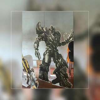 Lifesize Transformer Characters For Theme Party - Megatron