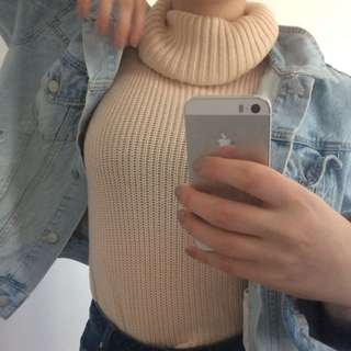 Blush Turtle Neck