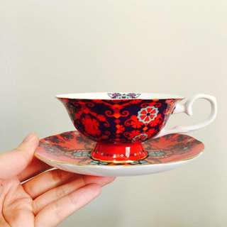 Gorgeous T2 Cup and Saucer II