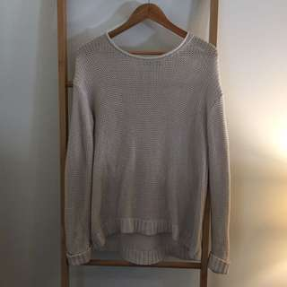 Sports girl Slouch Knitted Jumper