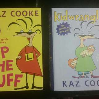 Kaz Cooke's Pregnancy and Parenting Books