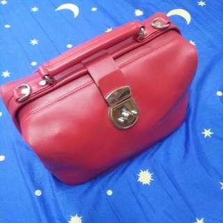 0917🔸紅色/大容量/醫生包/手提包(含運/免運)