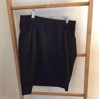 Black Business Skirt