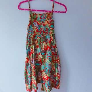 渡假風棉質洋裝