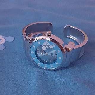 BN Blue Round Watch (Pending, Nlailaella6)