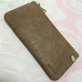 Brand New Cowhide Leather Long Wallet