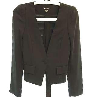 Black Summer-friendly Jacket