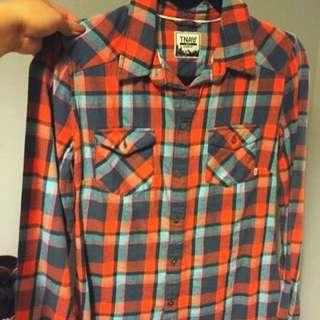 👑 TNA Plaid Shirt