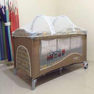 拱型蚊帳 遊戲床蚊帳 嬰兒床蚊帳 蚊帳(本賣場是蚊帳賣場 不含遊戲床)