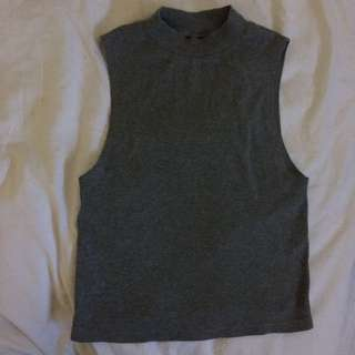 Topshop Grey Top