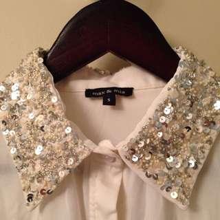 Crepe blouse S