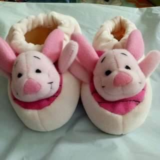 Disney Piglet Shoe With Rattle