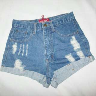 SALE // ₱50 OFF! Highwaist Denim Short