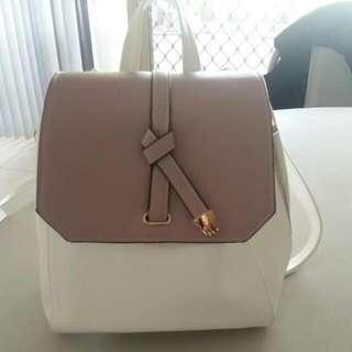 Small Backpack Double Zips