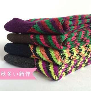 《鹿桑市集》秋冬限定 襪子 復古 可愛 新作限定 全新