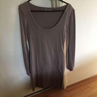 Kookai Nestle Dress Long Sleeve