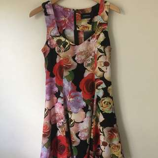Mink Pink Floral Dress Brand New
