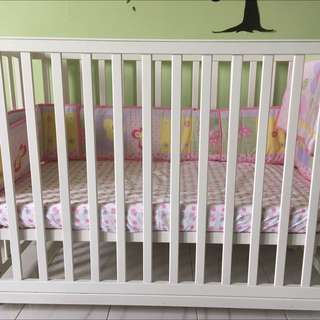 5-in-1 Convertible Baby Cot