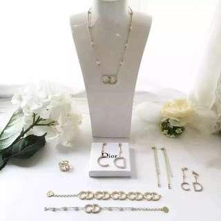 New arrival, Dior full set accessories