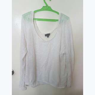 (Lace) Topshop Pull Over/ Cover Up