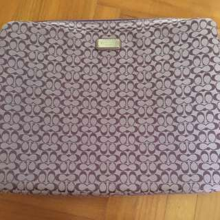 Authentic Coach Laptop sleeve