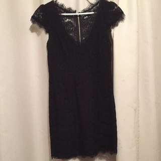 Dotti Size 10 Lace Dress