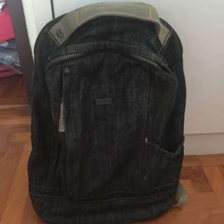 (Reserved) Esprit Laptop Denim Bagpack