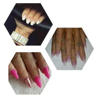 Sns Nails, Ombre, Nail Arts, Chrome Nails