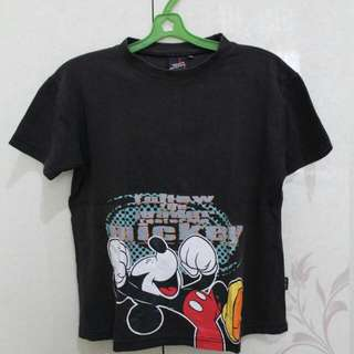 Shirt Mickey Mouse For Kids