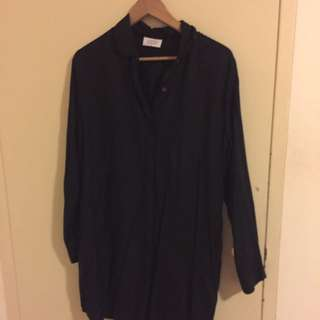 Vanishing Elephant Button Down Dress Size 12