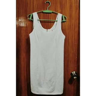 Guess White Sleeveless Dress