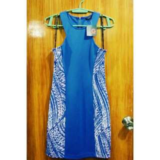 Guess Blue Sleeveless Dress