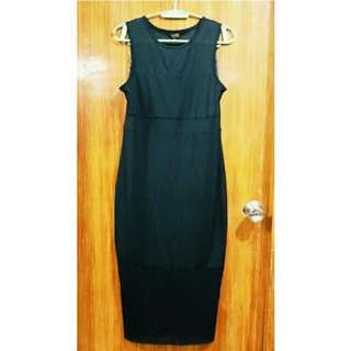 Guess Long Black Dress