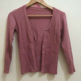 Cardigan Dusty Pink