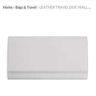 Kikki K Leather Travel Wallet
