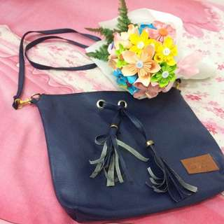 DSHP Blue Sling Bag