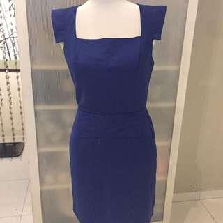 F21 Blue Colour Dress