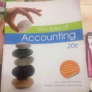 (二手)Principles Of Accounting