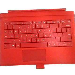 Surface Pro 3 Keyboard Cover (Red)