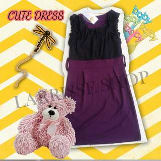 Purple Dress New Harga Miring