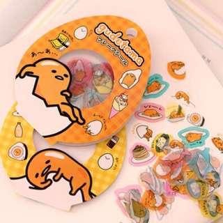 Gudetama Sanrio Stickers 60pcs