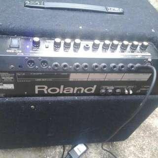 roland mk 550 amp 180w