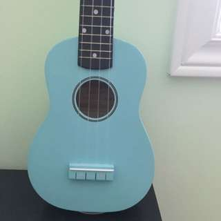 Mint Blue Denver Ukulele