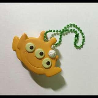 Disney Toy Story 三眼怪鬆餅扭蛋吊飾